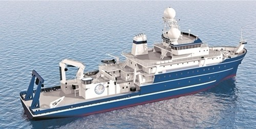 Xiamen University New Scientific Research Vessel